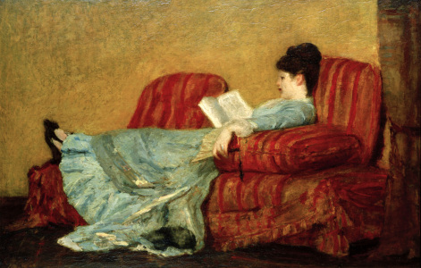 Picture no: 30008773 M.Cassatt, Young Lady, reading. Created by: Cassatt, Mary