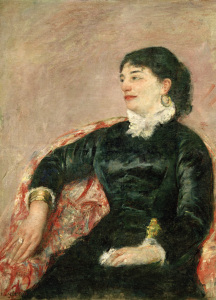 Picture no: 30008785 M.Cassatt, Portrait of an Italian Lady Created by: Cassatt, Mary