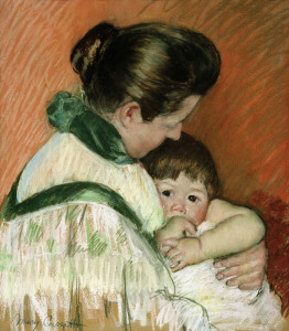Picture no: 30008787 Cassatt / Sleepy Thomas / Pastel drawing Created by: Cassatt, Mary