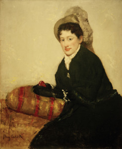 Picture no: 30008791 Cassatt / Portrait of Madame X / 1878 Created by: Cassatt, Mary
