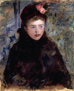 Picture no: 30008793 M.Cassatt, La Jeune Femme, c.1882. Created by: Cassatt, Mary