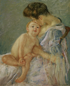 Picture no: 30008807 Cassatt / Maternity / Painting / c. 1906 Created by: Cassatt, Mary