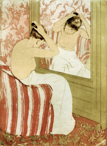 Picture no: 30008813 M.Cassatt, The hairdo, 1890/91 Created by: Cassatt, Mary