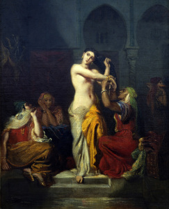 Picture no: 30008839 Theodore Chasseriau / Harem scene / 1854 Created by: Chasseriau, Theodore