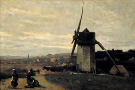 Picture no: 30008903 Camille Corot / Wind mill Created by: Corot, Jean Baptiste Camille