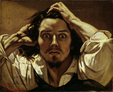 Picture no: 30008913 Courbet, Self-portrait