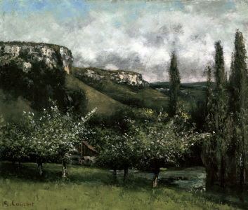 Picture no: 30008951 Gustave Courbet / Apple Orchard Created by: Courbet, Gustave