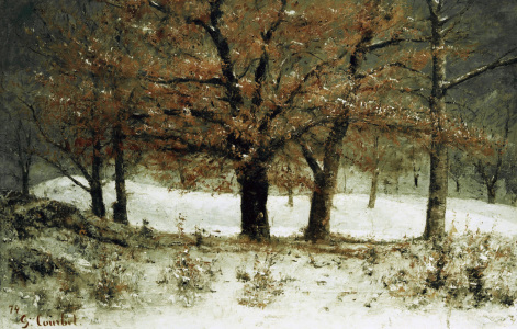 Picture no: 30008967 Courbet / Park of Crêtes / Painting Created by: Courbet, Gustave