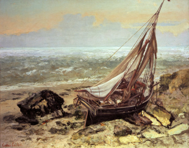 Picture no: 30008985 Gustave Courbet / The Fishing Boat Created by: Courbet, Gustave