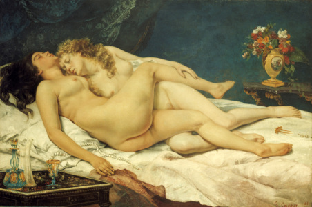 Picture no: 30008987 G.Courbet / Le Sommeil / 1866 Created by: Courbet, Gustave
