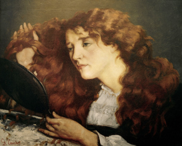 Picture no: 30008989 G.Courbet / Portrait of Jo / 1865 Created by: Courbet, Gustave