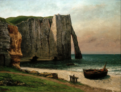 Picture no: 30008995 Courbet / Rocky coast near Étretat Created by: Courbet, Gustave