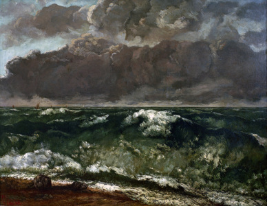 Picture no: 30009015 Courbet / The wave / 1869/70 Created by: Courbet, Gustave