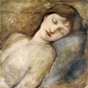 Picture no: 30009050 E.Burne-Jones, Sleeping Princess Created by: Burne-Jones, Edward