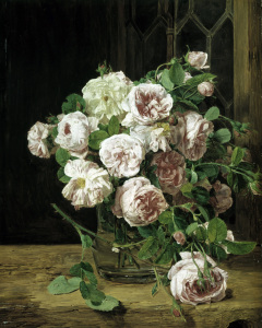 Picture no: 30009134 F.G.Waldmüller / Bunch of Roses / 1832 Created by: Waldmüller, Ferdinand Georg
