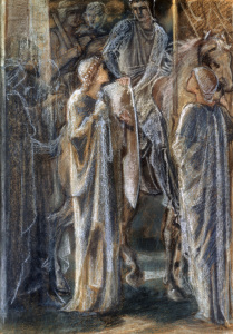 Picture no: 30009204 E.Burne-Jones, Study for Departure of... Created by: Burne-Jones, Edward