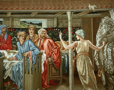 Picture no: 30009222 King Arthur / Round Table / Burne-Jones Created by: Burne-Jones, Edward