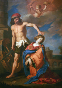 Picture no: 30009257 Guercino / Martyrdom of St. Catherine Created by: Guercino, Giovanni Francesco Barbieri
