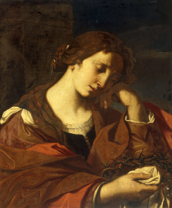 Picture no: 30009267 G.Barbieri, The Penitent Magdalene. Created by: Guercino, Giovanni Francesco Barbieri