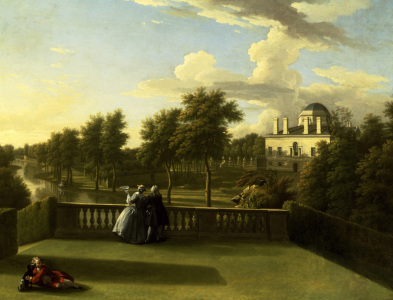 Picture no: 30009289 W.Hogarth, Chiswick House, 1741. Created by: Hogarth, William