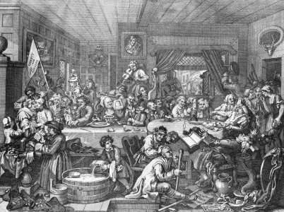 Picture no: 30009317 Hogarth / An Election Entertainment/1755 Created by: Hogarth, William