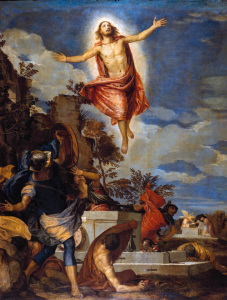 Picture no: 30009373 Paolo Veronese, Resurrection of Christ Created by: Veronese, Paolo