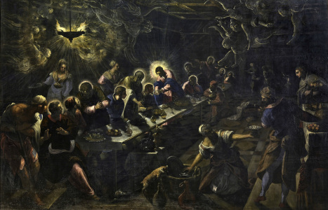 Picture no: 30009451 Tintoretto, Abendmahl Created by: Tintoretto, Jacopo