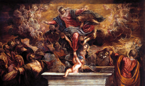 Picture no: 30009467 Assumption of Virgin / Tintoretto Created by: Tintoretto, Jacopo