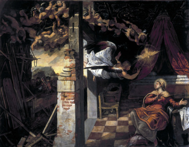 Picture no: 30009555 Tintoretto, Virgin's Annuncation Created by: Tintoretto, Jacopo