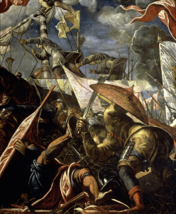 Picture no: 30009559 Victory at Argenta 1482 / Tintoretto Created by: Tintoretto, Jacopo