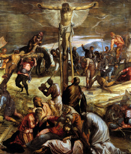 Picture no: 30009563 Tintoretto, Crucifixion, Detail Created by: Tintoretto, Jacopo