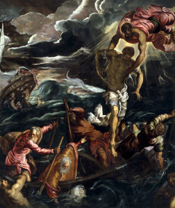 Picture no: 30009574 Tintoretto / Mark Saving Saracen / 1562 Created by: Tintoretto, Jacopo