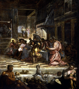 Picture no: 30009576 Tintoretto, Last Supper Created by: Tintoretto, Jacopo