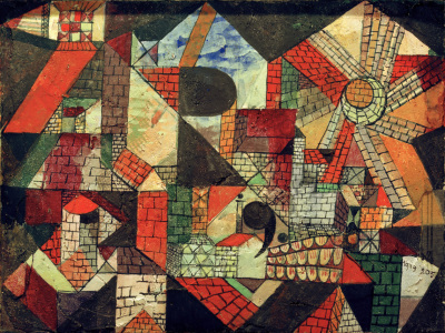 Picture no: 30009596 P.Klee, Stadt R (City R) / 1919 Created by: Klee, Paul