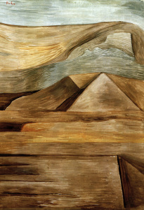 Picture no: 30009612 P.Klee, Pyramids / 1933 Created by: Klee, Paul