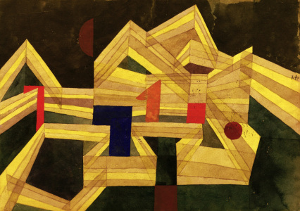 Picture no: 30009632 P.Klee, Architecture,transparent-struct. Created by: Klee, Paul