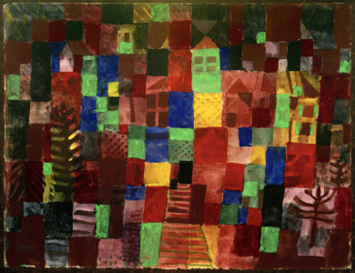 Picture no: 30009636 P.Klee, Houses with Stairway / 1923 Created by: Klee, Paul