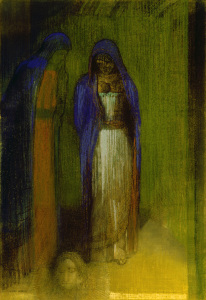 Picture no: 30009698 O.Redon, Salome / Drawing / c.1893 Created by: Redon, Odilon