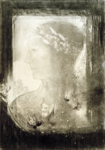Picture no: 30009754 O.Redon / A Woman's Profile Created by: Redon, Odilon