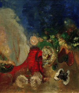 Picture no: 30009758 O.Redon, The Red Sphinx / 1912 Created by: Redon, Odilon