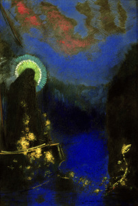 Picture no: 30009762 O.Redon, Virgin in Glory / Pastel Created by: Redon, Odilon