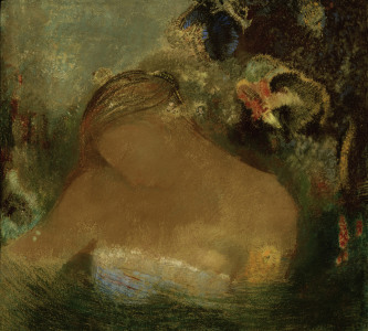 Picture no: 30009764 O.Redon, Ophelia / Pastel Created by: Redon, Odilon
