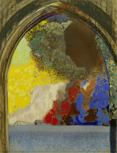 Picture no: 30009766 O.Redon, Beatrice - Woman in Profile / P Created by: Redon, Odilon