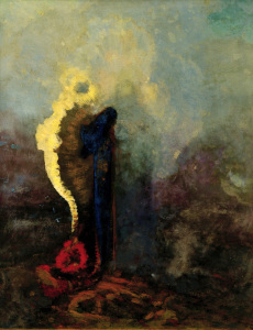 Picture no: 30009784 O.Redon, The Dream / Painting / 1904 Created by: Redon, Odilon