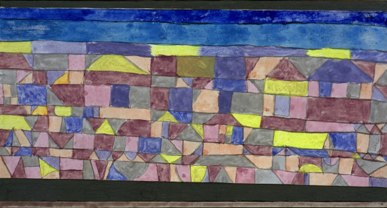Picture no: 30009786 P.Klee, Mediterranean Settlement / 1924 Created by: Klee, Paul