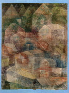 Picture no: 30009790 P.Klee, Last Village in Ph.-Valley Created by: Klee, Paul