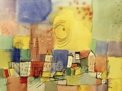Picture no: 30009802 P.Klee, German City BR, 1928 Created by: Klee, Paul