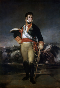Picture no: 30009822 Ferdinand VII of Spain / Paint.by Goya Created by: Goya, Francisco de