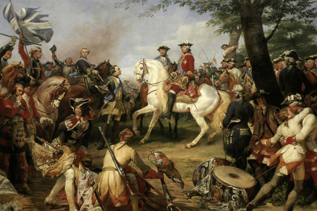 Picture no: 30009863 Battle of Fontenoy / H.Vernet Created by: Vernet, Horace