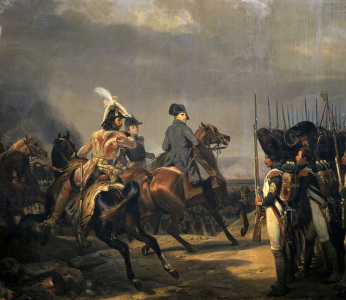 Picture no: 30009867 Napoleon at Jena / Ptg.by H.Vernet /1836 Created by: Vernet, Horace
